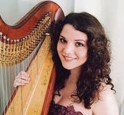 und konnte Harfenistin Joanna Thalmann aus Niederwil dafür gewinnen. (Bild: pd)