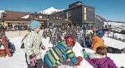 Wie hier im Berggasthaus Oberdorf sehen die Bergbahnen Wildhaus bedeutende Vorteile darin, dass sie die Gastronomie selbst führt. (Bild: PD)