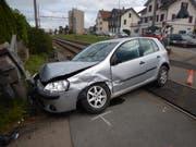 Beim Unfall entstand ein Sachschaden von 25'000 Franken. (Bild: Kapo TG)