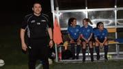 Dino De Luca hat gut lachen. Er und sein Team sind auf gutem Weg in den Ostschweizer Cupfinal. (Bild: Beat Lanzendorfer)