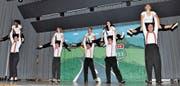 Der STV Eichberg gefiel mit turnerischen Glanzleistungen. (Bild: René Jann)