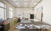 Alex Hanimanns Atelier. (Bild: Hanspeter Schiess)