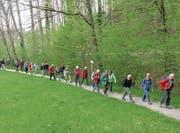 Die Wanderung führte von Frauenfeld via Matzingen und Häuslenen zurück nach Frauenfeld. (Bild: PD)