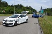 Der Sachschaden an den Autos beträgt rund 24'000 Franken. (Bild: KAPO)