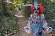 Grusel kennt keine Grenzen: An Halloween machen es sich viele zum Spass, anderen einen Schrecken einzujagen. (Bild: Erik S. Lesser/EPA)