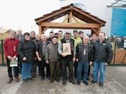 Mitglieder des KZV Bütschwil, mit Schweizer Norbert Koller in der Mitte. (Bild: PD)
