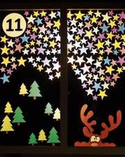 Bereits seit 18 Jahren sind alle drei Jahre die selbst gestalteten Adventsfenster in Bettenau zu bestaunen.