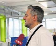 Hans Klaus, Mediensprecher der Berlinger-Gruppe. (Bild: Keystone)