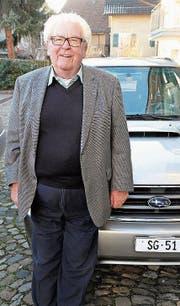Eines der Markenzeichen Toni Kaufmanns ist «SG 51». (Bild: stu)