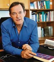 Conrad Eugster, Autor des Romans «Keine leeren Hände». (Bild: Ralph Ribi)