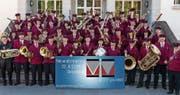 Das Aktivkorps des Musikvereins Diepoldsau-Schmitter ersetzt in diesem Jahr die in die Jahre gekommene Uniform. Um das gebührend zu feiern, führt er am 22. und 23. September ein Einweihungsfest durch. (Bild: pd)