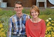 Albert Themessl und Karin Engel gefällt es in St. Margrethen sehr gut, sie hat es der Arbeit wegen nach St. Margrethen gezogen.