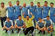 FC Uzwil Futsal ist Gruppensieger und darf die Aufstiegsspiele in die NLA bestreiten. (Bild: Urs Nobel)