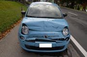 An den beiden Fahrzeugen entstand ein Sachschaden von mehreren tausend Franken. (Bild: Kapo AR)