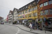 Am Café Restaurant La Piazza an der St.Gallerstrasse sind gleich fünf Betreiber interessiert. (Bild: Samuel Schalch)