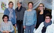 Alter und neuer Vorstand (v. l.): Daniela Meier, Antoinette Steiger, Ruth Städler, Angelika Meier, Susanne Haltinner und Karin Städler. (Bild: pd)