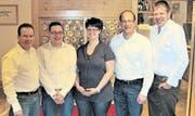 Der Vorstand des Gewerbevereins Neckertal und Umgebung ist wieder vollzählig. (Bild: pd)