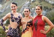 EVM-Trio (v. l.) Christina Niederer, Romana Kaiser und Katrin Bünter. (Bild: pd)