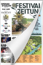 Open Air St.Gallen - Festivalzeitung