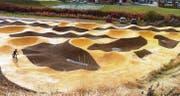 Was es in Pontresina bereits gibt, entsteht in Flawil ab heute. (Bild: rkf)