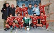 Der FC Bazenheid gehört als Titelverteidiger zu den Topfavoriten beim eigenen Hallenmasters in der Ifang-Halle. (Bild: Beat Lanzendorfer)