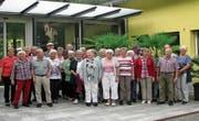Die Seniorinnen und Senioren der ökumenischen Kirchgemeinden Wildhaus-Alt St. Johann genossen die Ferien im Tessin. (Bild: PD)