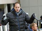 Uzwil Trainer Raphael Zahner benötigt im morgigen Spiel ein besonders feines Händchen, um sein Team zu führen. (Bild: Mario Gaccioli)