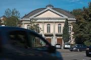 Wird erst abgebrochen, wenn der Campus am Platztor tatsächlich verwirklicht wird: Offene Kirche an der Ecke Unterer Graben und Böcklinstrasse. (Bild: Michel Canonica)