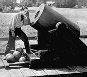 Auch «The General» mit Buster Keaton läuft am Samstag an den Stummfilmkonzerten im Kirchgemeindehaus St. Georgen. (Bild: pd)