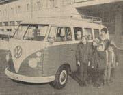 Dank verschiedener Gönner erhielt die Heilpädagogische Hilfsschule Toggenburg ein eigenes Fahrzeug. (Bild: PD)