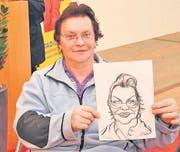Hildegard Hasler liess sich zum Porträt noch ein Autogramm geben.