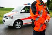 Ein Polizist der Ausserrhoder Kantonspolizei. (Bild: Keystone)