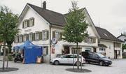 Das Gasthaus Linde am gleichnamigen Platz.