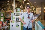 Martha Senn ist im Coop Gossau unter anderem für aktuell 17 Kassierinnen zuständig. (Bild: Urs Bucher)