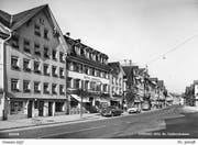 Auch ohne Kreisel war die St. Gallerstrasse bereits Gegenstand der Debatte. (Bild: Foto Gross)