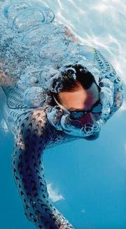 Schwimmanzug mit dem Hai als Vorbild: Fastskin von Speedo. (Bild: ap/Rob Griffith)