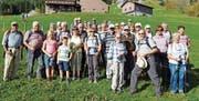Perfektes Wetter begleitete die Gruppe der Seniorenwanderer auf ihrer letzten Wanderung der Saison. (Bild: PD)