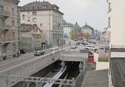 Die Tunneldecke muss 2015 bis zum Blumenbergplatz geöffnet werden. (Bild: David Gadze)