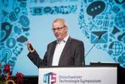Ob Weltkonzern oder KMU: Die Digitalisierung bietet Chancen für beide, wie Markus Hofer von Bühler bilanziert. (Bild: Urs Bucher)