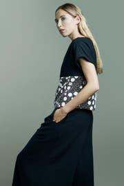 Faire Mode aus St.Gallen: Blouson und Culotte aus der Kollektion des Labels J. Grubenmann. (Bild: PD)