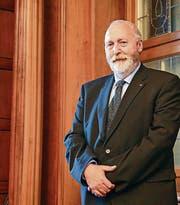 Der neue Präsident des Ausserrhoder Kantonsparlaments, Peter Gut. (Bild: Steffi Sonde)