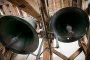 Die Glocken der katholische Kirche Wittenbach läuten in der Nacht nicht mehr. (Bild: Carmela Odoni)