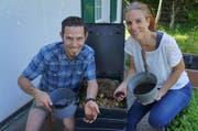 Kompostieren (Bild: mab)