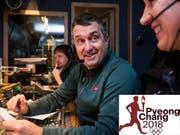 Beni Giger ist für das TV-Signal der olympischen Skiwettkämpfe zuständig. (Bild: SRF/Marcus Gyger)
