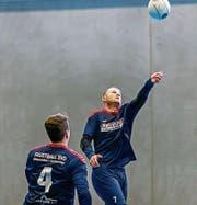 Der SVD Diepoldsau-Schmitter will am EFA Men's Champions Cup Indoor in Brettdorf den Final erreichen. (Bild: fb)