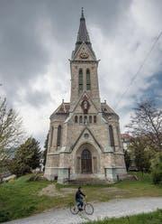 Seit dem Dachstockbrand 2007 ist die Kirche St.Leonhard weitgehend unbelebt. (Bild: Benjamin Manser)