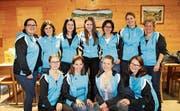 Die Leiterinnen der Fitness Damen des Turnvereins Wattwil. (Bild: PD)