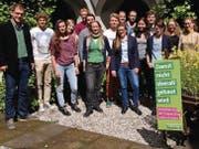 Kandidatinnen und Kandidaten der Jungen Grünen: Sie kämpfen für den Schutz des «Grünen Rings». (Bild: pd/Junge Grüne)