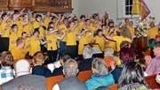 Spass am Singen, Spass an der Bewegung – das sind die Sun Singers. (Bild: Ulrike Huber)