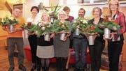 Eine ganze Gruppe von Mitarbeitenden durfte 2017 in der Tertianum Rosenau AG ein Dienstjubiläum feiern. (Bild: PD)